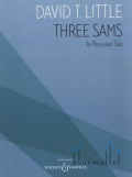 Little , David T. - Three Sams for Percussion Solo