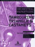 Carroll , Raynor - Orchestral Repertoire for Tambourine, Triangle & Castanets (特価品)