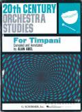 Abel , Alan - 20th Century Orchestra Studies for Timpani (特価品)