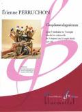 Perruchon , Etienne - Cinq Danses Dogoriennes (スコア2冊セット)