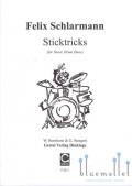 Schlarmann , Felix - Sticktricks for Snare Drum Duos (スコア2冊セット)