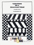 Levitan , Daniel - Variation on a Ghanaian Theme for Percussion Trio (スコアのみ3部セット) (特価品)