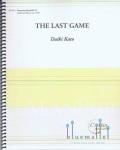 Kato , Daiki - The Last Game (スコア・パート譜セット)
