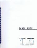 Leonard , Stanley - Dance Suite (スコアのみ4部セット) (特価品)