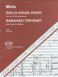 Marta , Istvan - Doll's House Story for Four or Five Performers (スコアのみ) (特価品)