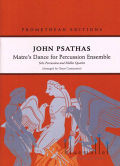 Psathas , John - Matre's Dance for Percussion Ensemble arr. Omar Carmenates (打楽器アンサンブル伴奏版/スコアのみ)