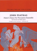 Psathas , John - Matre's Dance for Percussion Ensemble arr. Omar Carmenates (打楽器アンサンブル伴奏版/パート譜のみ)