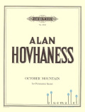 Hovhaness , Alan - October Mountain for Percussion Sextet (スコア・パート譜セット) (特価品)
