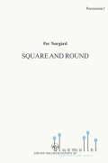 Norgard , Per - Square and Round Two Dances for Percussion Sextet (パート譜のみ)