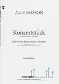 Masson , Askell - Konzertstuck (パーカッションアンサンブル版 / スコア・パート譜セット) (特価品)