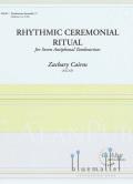 Cairns, Zachary - Rhythmic Ceremonial Ritual (スコア・パート譜セット) (特価品)