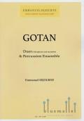 Sejourne , Emmanuel - Gotan Concerto Duo Version : Vibes, Marimba & Percussion Ensemble (ビブラフォンとマリンバのデュオ&打楽器アンサンブル版/スコア・パート譜セット) (特価品)
