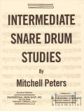 Peters , Mitchell - Intermediate Snare Drum Studies