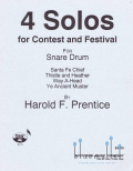 Prentice , Harold F. - 4 Solos for Contest and Festival (特価品)