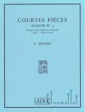 Dupin , Francois - Courtes Pieces Album No. 3 (スコア・パート譜セット)