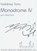 Taira , Yoshihisa - Monodrame IV pour Vibraphone