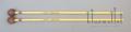 Elite Mallets Xylophone Wood Small Ball 1  (ラタン柄)