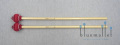 Mike Balter Mallet Pro Vibe Series MB-B24R (ラタン柄)