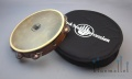 "Black Swamp Tambourine 10"" Single Row Chromium 25 TS1"