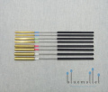 Dragonfly Percussion Set of Brass Triangle Beaters (BTSET)