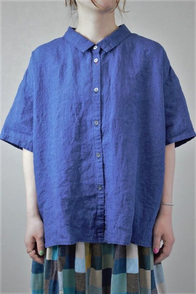 レディースリネンゆるシャツ