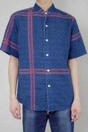 メンズスタンドシャツ