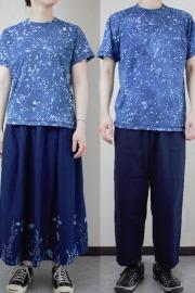 草木染めTシャツ