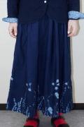 花抜染スカート