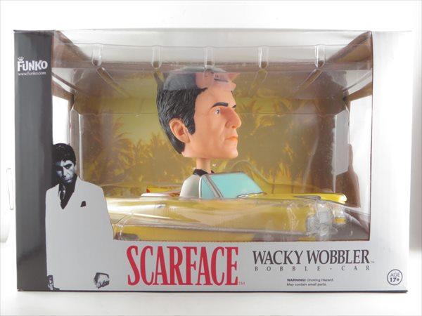 【箱傷】アントニオ・トニー・モンタナ キャデラック [スカーフェイス(Scarface)] FUNKO(ファンコ) Wacky Wobbler(ワッキーワブラー) バブルヘッド