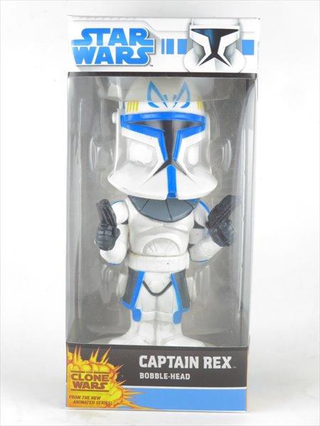 キャプテンレックス [STARWARS(スターウォーズ)・クローンウォーズ] FUNKO(ファンコ) Wacky Wobbler(ワッキーワブラー) バブルヘッド