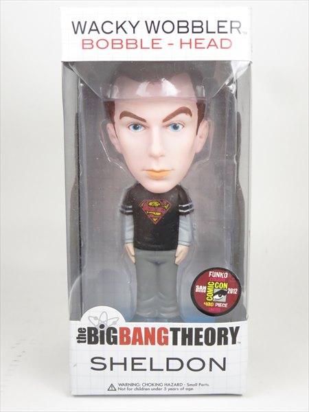 シェルドン スーパーマン 2012年SDCC480体 [BIG BANG THEORY(ビッグ・バン・セオリー)] FUNKO(ファンコ) Wacky Wobbler(ワッキーワブラー) バブルヘッド