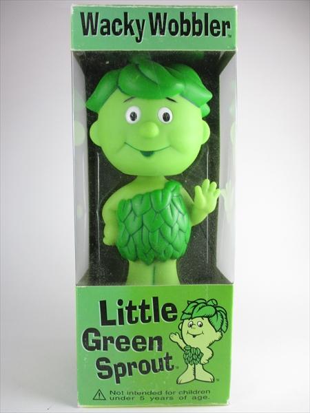 グリーンジャイアントスプラウト Green Giant Sprout FUNKO(ファンコ) Wacky Wobbler(ワッキーワブラー) バブルヘッド