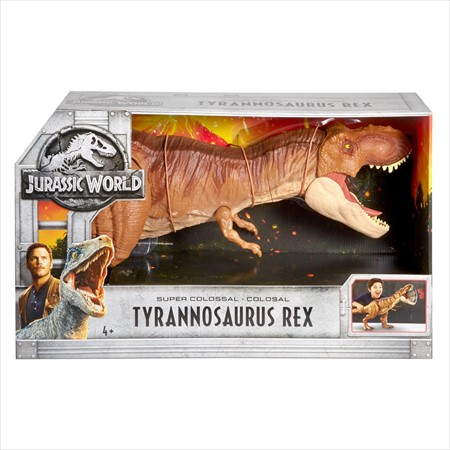 スーパー・コロッサル・ティラノサウルス・レックス(SUPER COLOSSAL TYRANNOSAURUS REX) [ジュラシック・ワールド炎の王国] MATTEL