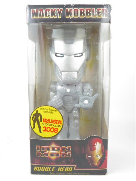 【箱傷】 アイアンマンMark2 ヨーロッパ1500体限定 [アイアンマン] FUNKO(ファンコ) Wacky Wobbler(ワッキーワブラー) バブルヘッド