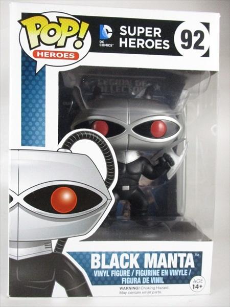 【箱傷】 ブラックマンタ [アクアマン] FUNKO(ファンコ) POP! HEROES 92
