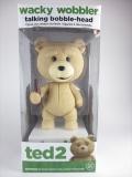 【トーキング機能付】テッド R指定版 [ted2] FUNKO(ファンコ) Wacky Wobbler(ワッキーワブラー) バブルヘッド