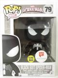 スパイダーマン ブラックスーツ 蓄光 限定版 [スパイダーマン] FUNKO POP!(ファンコ) バブルヘッド