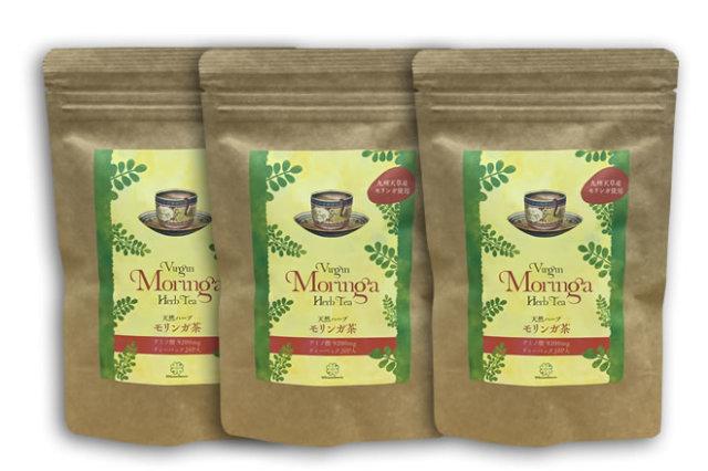 【定期購入】モリンガ茶(ハーブティー)3袋セット(60パック入り)