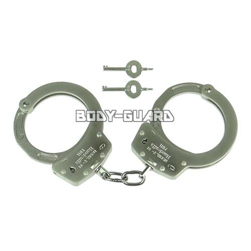 ユイル Y-01 スタンダード手錠(NIJ Pass) ダブルロック シルバー