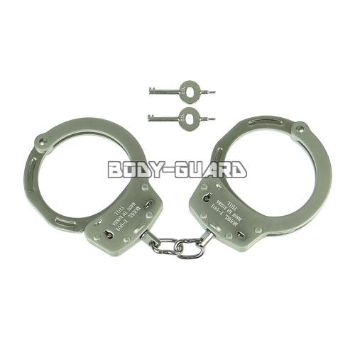 ユイル Y-001 スタンダード手錠(オーバーサイズ) ダブルロック シルバー