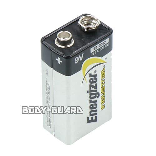 アルカリ9V Energizer(エナジャイザー) 【サイズ大】 12-2022