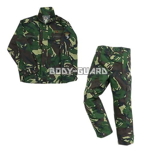 U.S.ARMY 特殊部隊 上下服セット グリーン×ブラウン 迷彩 165