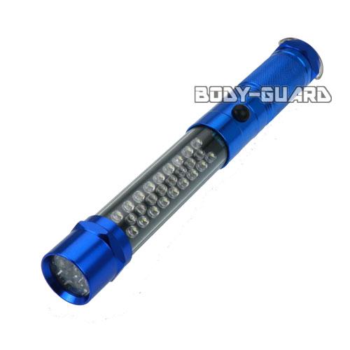 保安灯&LEDライト 3モード搭載 ブルー