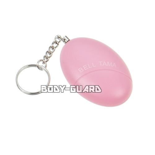 たまご型 防犯ブザー 120dB ピンク