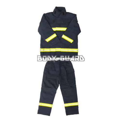 消防服 上下セット タイプ2 紺