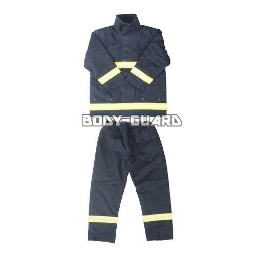 消防服 上下セット タイプ1 濃紺