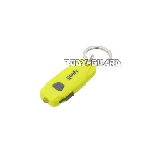 軽量コンパクトLED USB充電タイプ イエロー