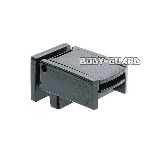 窓の簡易補助錠 マドガチット SP ●ブラック 2個組