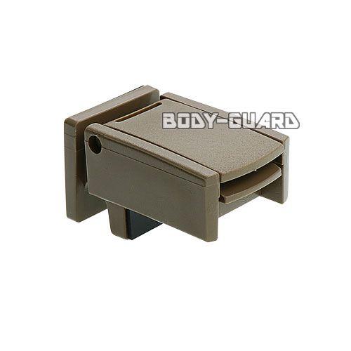 窓の簡易補助錠 マドガチット SP ◯ブラウン 2個組