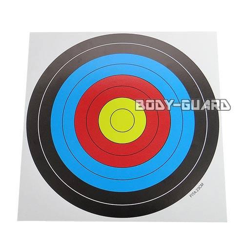 ターゲットペーパー 21センチ(用紙約21.5cm)